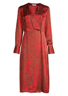 Equipment Willow Silk Wrap Dress