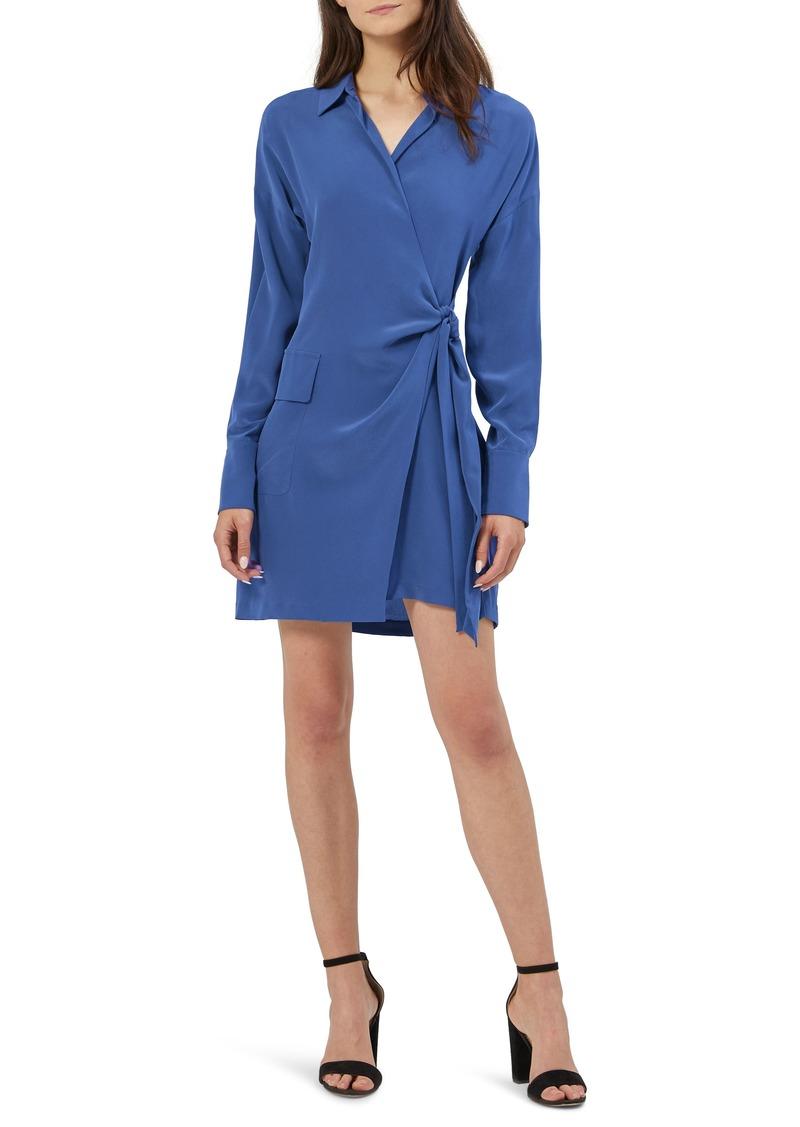 Women's Equipment Aaleah Long Sleeve Silk Wrap Dress