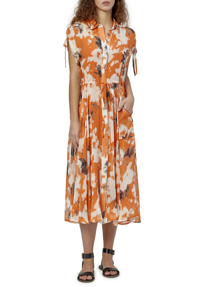 Women's Equipment Didier Silk Midi Dress