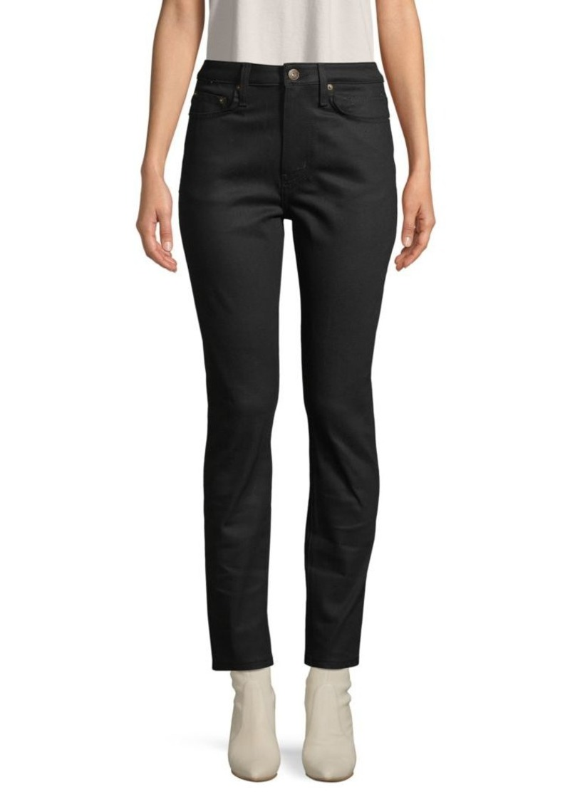 Equipment Zip-Fly Ankle-Length Jeans