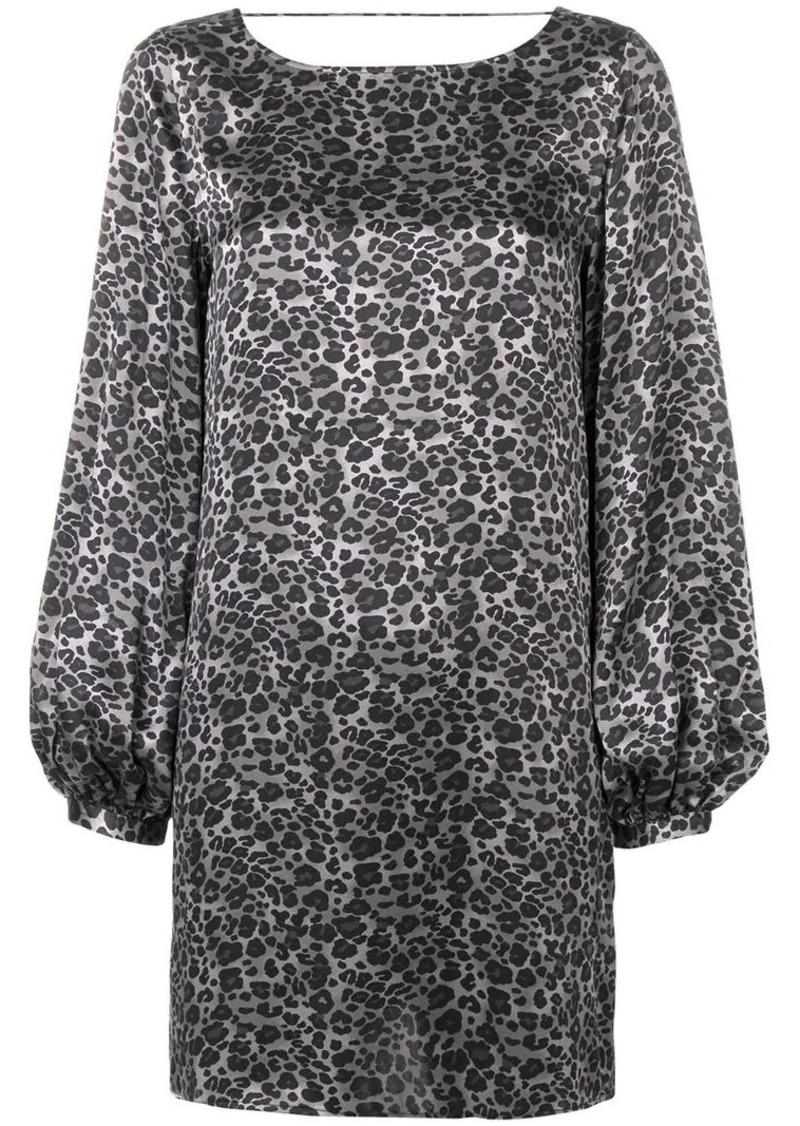 Equipment Zipporah leopard print dress