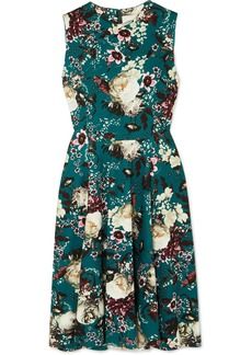 Erdem Dylanne Floral-print Stretch-jersey Dress