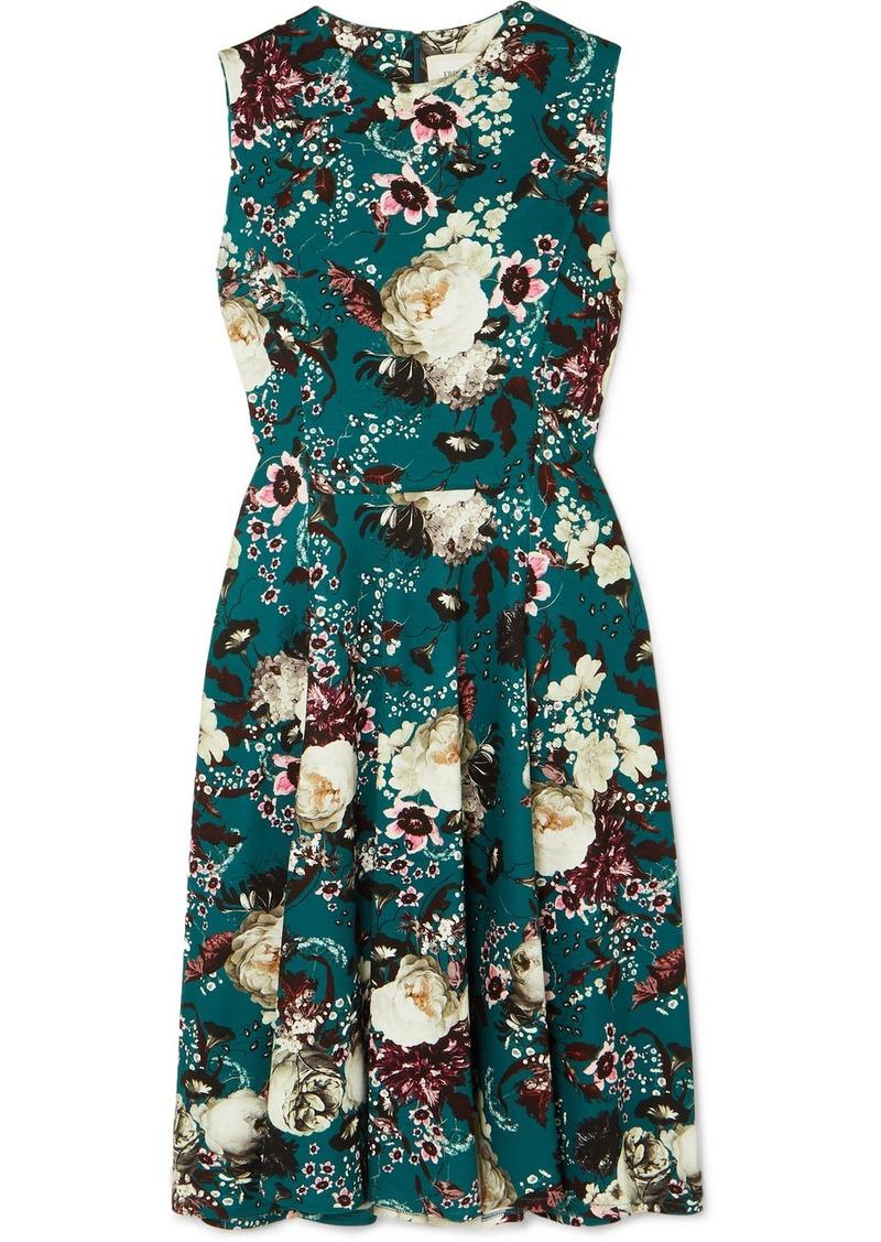 Erdem Dylanne Floral-print Stretch-jersey Dress