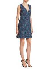 Erdem Eleena V-Neck Shift Dress