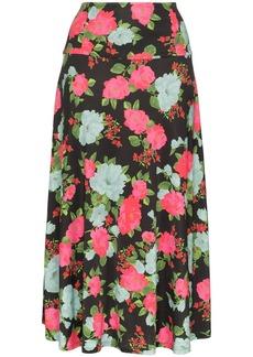 Erdem Elvin floral-print midi skirt