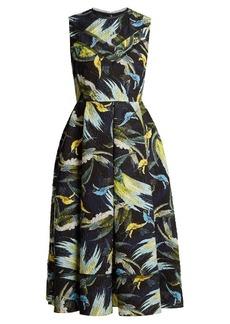 Erdem Alana textured dress