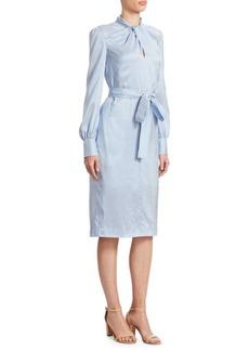 Erdem Amelia Twist-Front Dress