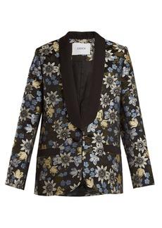 Erdem Anisha floral-jacquard jacket