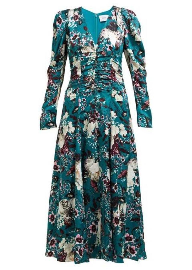 Erdem Annalee floral-print crepe dress