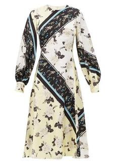 Erdem Annette Rosemont-Willow print silk-georgette dress