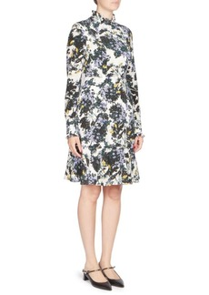 Erdem Bernette Floral-Print Dress