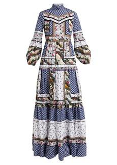Erdem Cassandra floral-print cotton dress