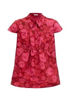 Erdem Cloverlly floral-jacquard top