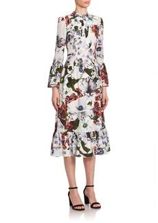 Erdem Connie Midi Dress