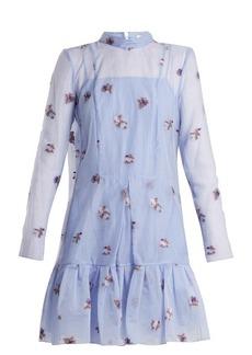 Erdem Cosima Ditsy Floral fil-coupé silk dress