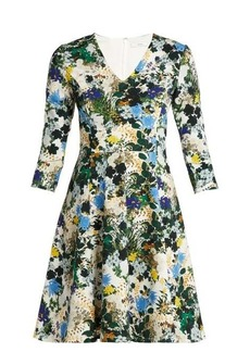 Erdem Domitilla Mariko Meadow-print dress
