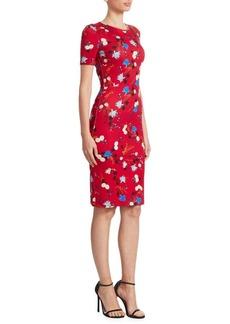 Erdem Essie Sheath Dress