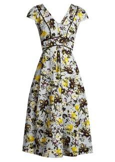 Erdem Fabianna woven-cotton dress
