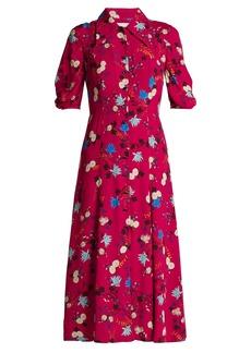 Erdem Gisella floral-print midi dress