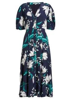 Erdem Gracelyn floral-print crepe midi dress