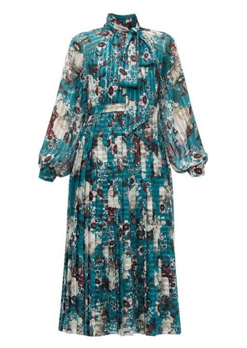 Erdem Helenia Eastbury-print midi dress