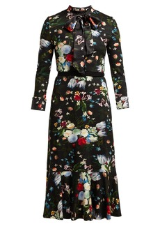 Erdem Hilma Edith-print midi dress