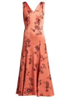 Erdem Honora satin dress