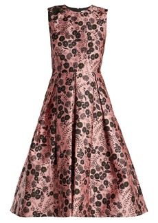 Erdem Indra floral-jacquard dress