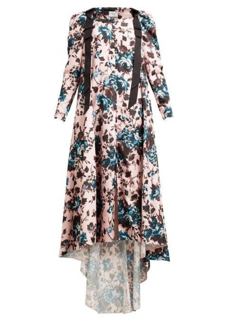 Erdem Janie floral-print taffeta gown