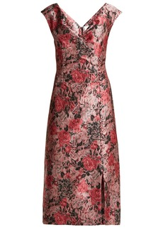 Erdem Joyti floral jacquard dress