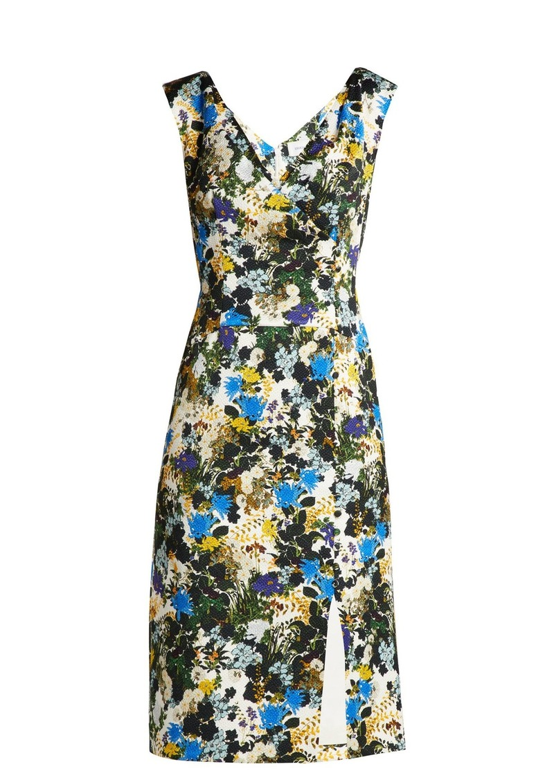 Jyoti meadow jacquard dress Erdem Nvu1dGa