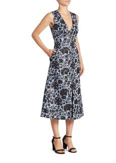 Erdem Kamila Midi Dress