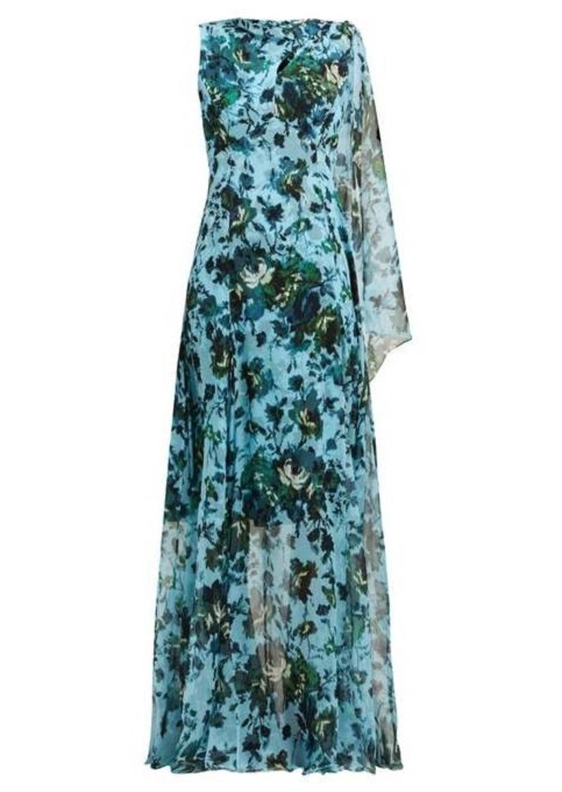 Erdem Kassidy floral-print silk-chiffon gown