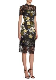 Erdem Keni Floral Lace Dress