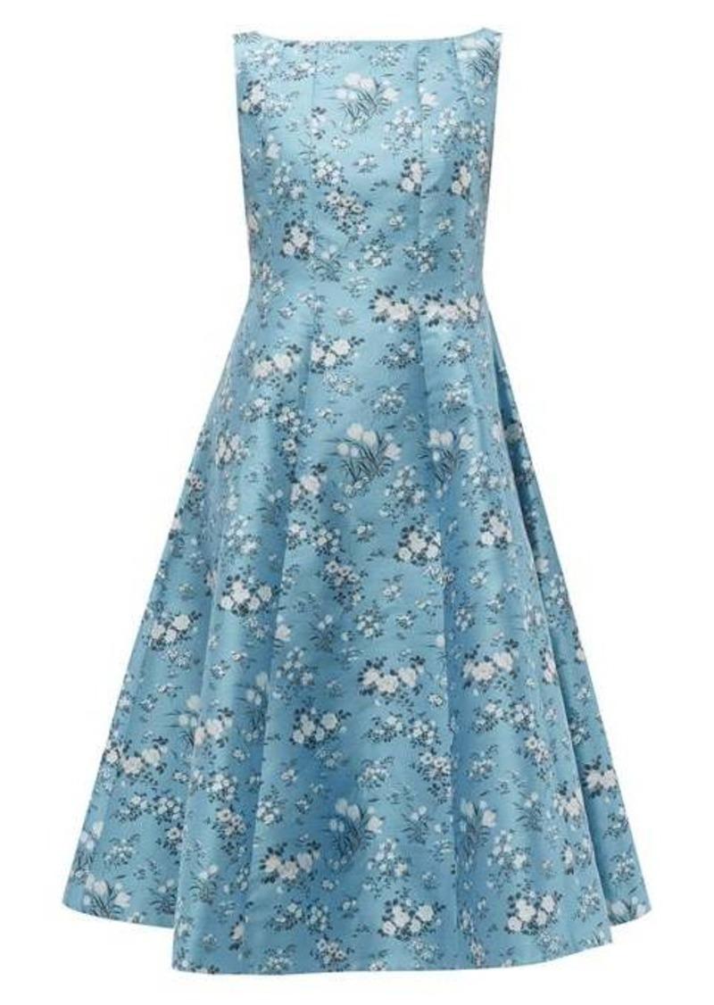 Erdem Kinsey floral-jacquard midi dress