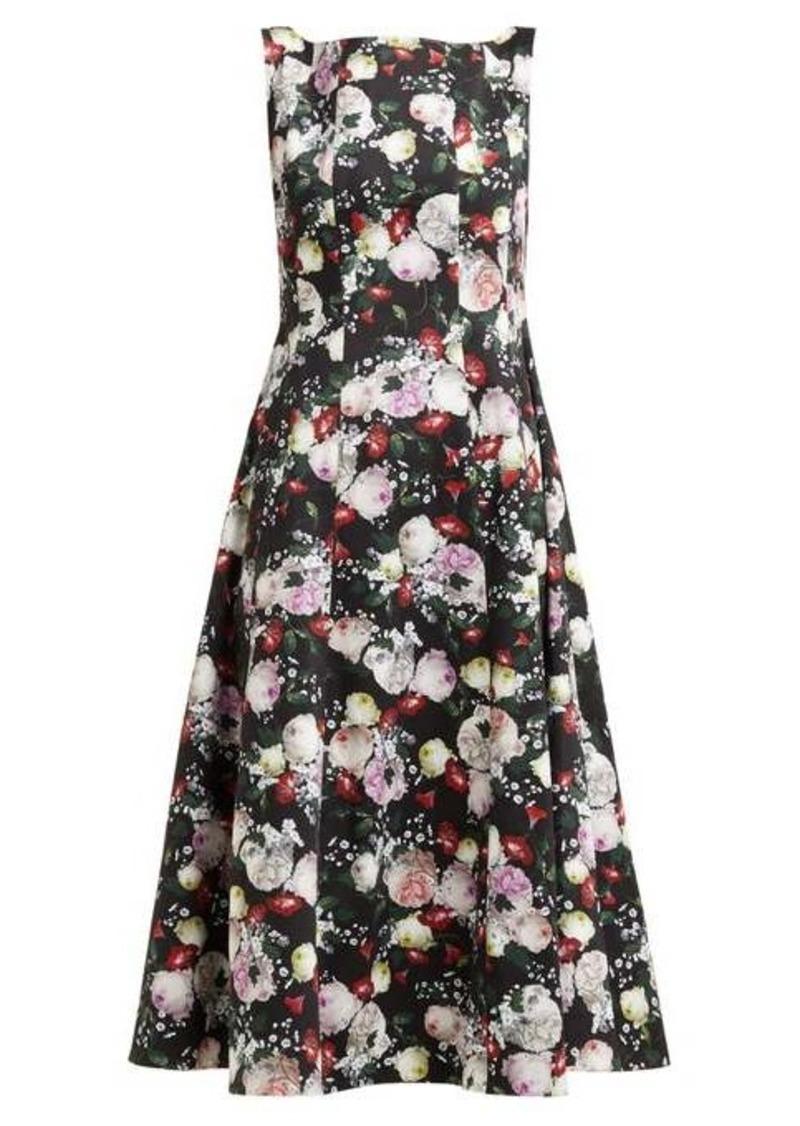 Erdem Kinsey floral-print crepe midi dress