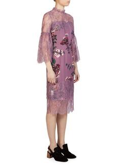 Erdem Kiya Floral-Print Dress