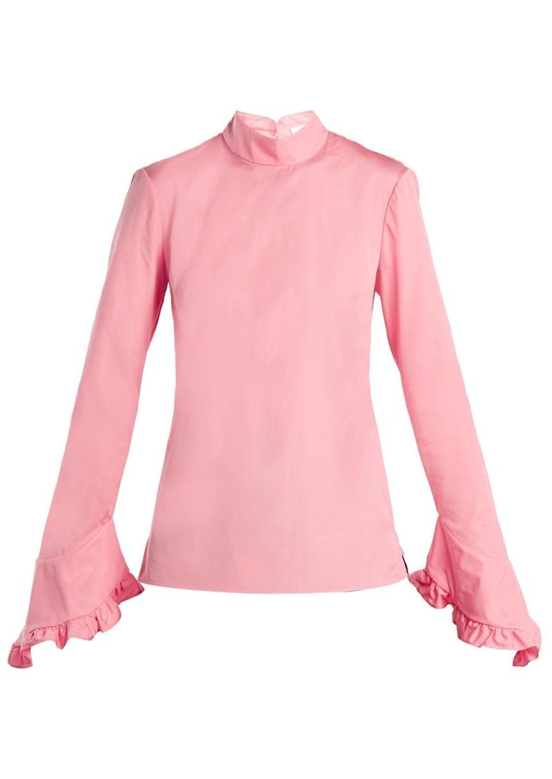 d7847284ffdf9 Erdem Erdem Lindsay cotton blouse