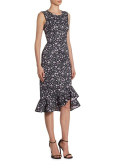 Erdem Louisa Floral-Print Dress