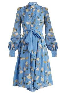 Erdem Neville Mariko Meadow-print cotton dress
