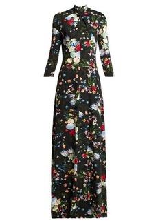 Erdem Niaedith floral jersey dress
