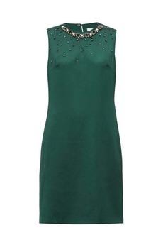 Erdem Rivanna bow-appliqué satin dress
