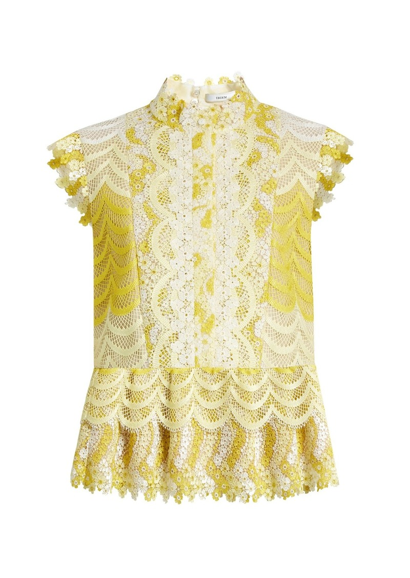 2b3d9382f7298 Erdem Erdem Sam degradé guipure-lace blouse
