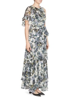 Erdem Sinead Capelet Gown