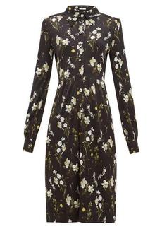 Erdem Tullio daffodil-print jersey shirt dress