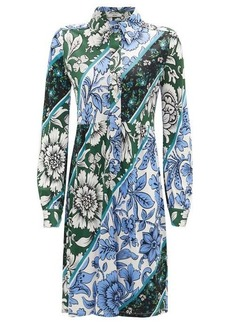 Erdem Tullio Modotti Wallpaper-print shirt dress
