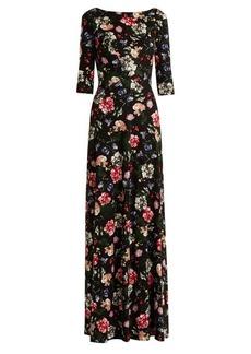 Erdem Valentina floral-print dress