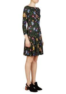 Erdem Vivi Floral-Print Dress
