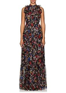 Erdem Women's Ava Floral Silk Gown