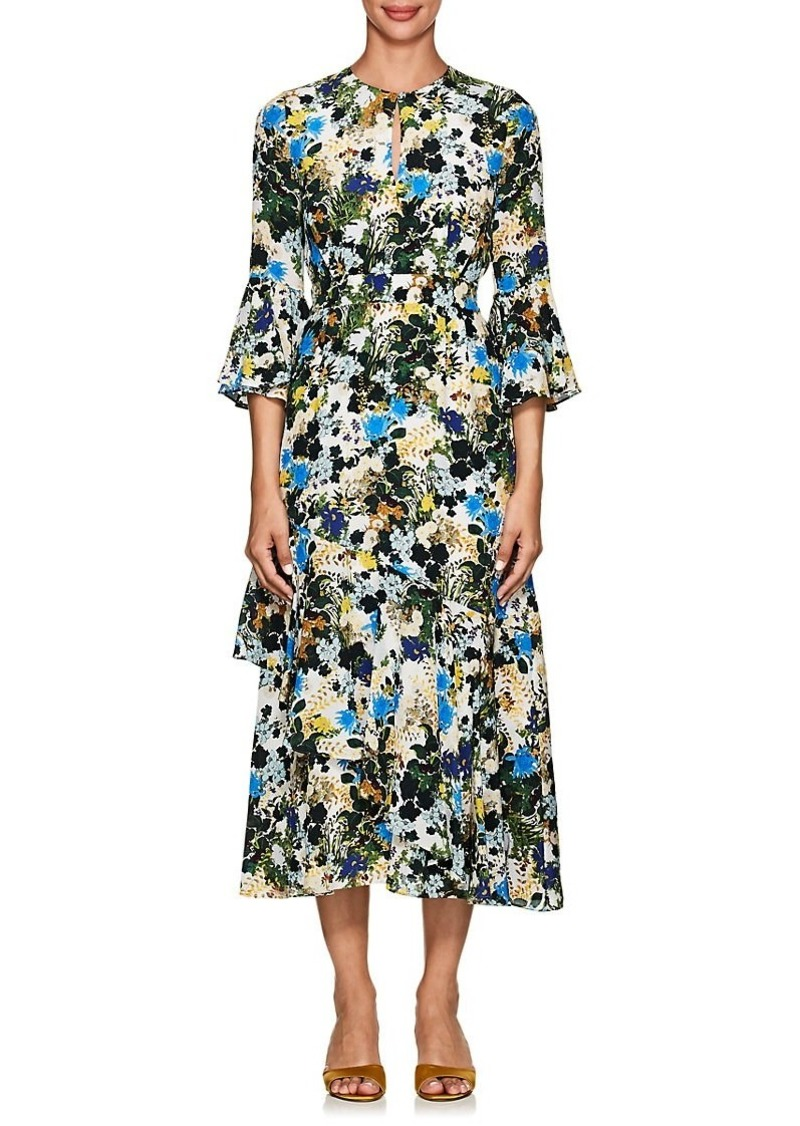 a3c45429bcb3 Erdem Erdem Women's Florence Floral Silk Midi-Dress | Dresses